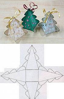 Choinka Z Papieru Na Ozdoby Bożonarodzeniowe Zszywkapl