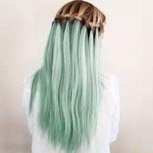 Kolorowe włosy kocham <3
