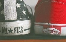 converse and vans <3