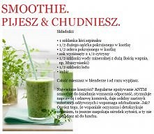 NEKTAR MODELEK Smoothie. Pijesz - chudniesz ! Dla stonowania warzywnego aromatu można dodać wiórki kokosowe. Pamiętajcie jednak że samo smoothie nie zdziała cudu. Ćwiczcie, stos...