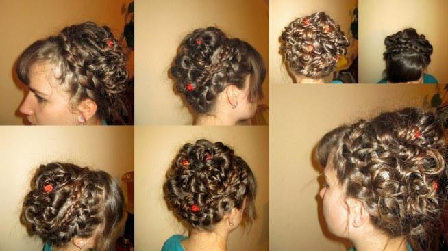 Upięcie Dla Długich Włosów W Sumie Idealnie Nadawałoby