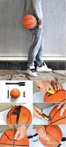 torba ze starej piłki :)