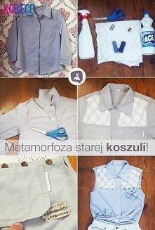 Stara koszula ~ modna koszula
