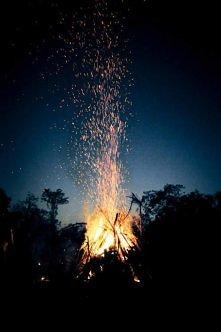 Chwile przy ognisku z gitarą w gronie przyjaciół - BEZCENNE