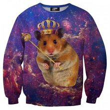 Mr.Gugu & Miss Go - King hamster sweater