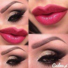 śliczny makijaż ;3