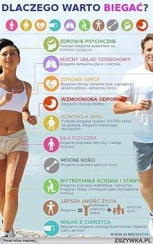Dlaczego warto biegać :D