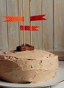 """Tort Mleczna Droga """"Milky Way""""   Składniki (tortownica o śr. 20 cm):  Biszkopt kakaowy (MW) - dobrze jest upiec go dzień wcześniej, będzie łatwiejszy do przekrojenia: ..."""
