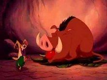 Król lew - Taniec hula  Kto pamięta? :)