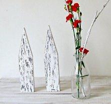 domki - drewniana dekoracja w skandynawskim stylu. Dla kochających minimalizm!