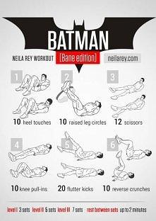 Ćwiczenia z Batmanem;)