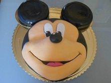 Tort MYSZKA MIKI dla chłopca:)