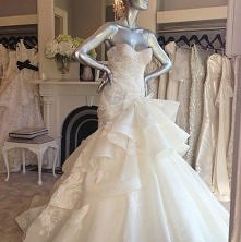 Kolejna boska suknia ślubna <3