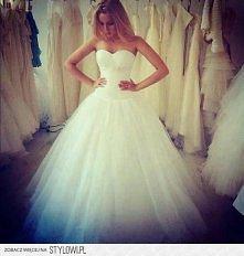 moja wymarzona suknia ślubna! ^^