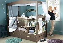 super łóżeczko dla niemowlaka