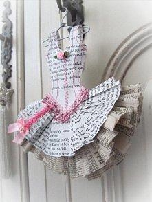 gazetkowy kostium