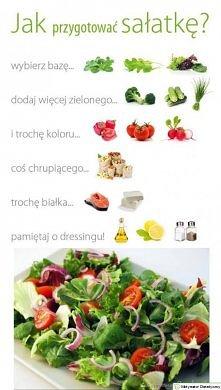 Jak przygotować smaczną i zdrową sałatkę