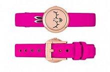 Słodki zegarek z twarzą i uszkami <3 Wcale nie jest drogi!