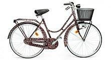 Rower w cętki z koszyczkiem <3 Tylko taki chcemy na wiosnę!