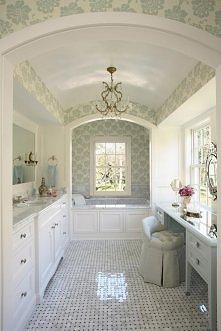Łazienka idealna - elegancka, przestronna, z dużą ilością szafeczek i szuflad...