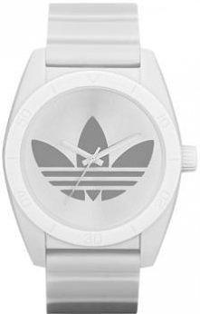 Biały zegarek marki Adidas