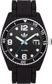 Czarny, sportowy zegarek ma...