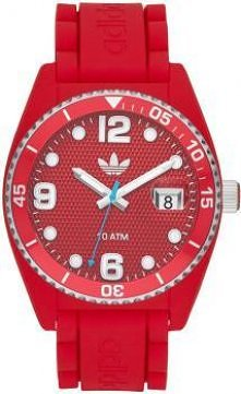 Czerwony zegarek Adidas