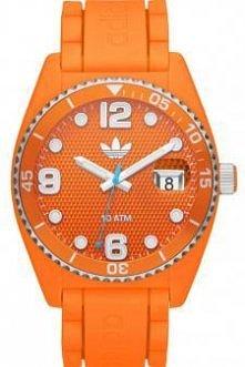 Pomarańczowy zegarek marki ...