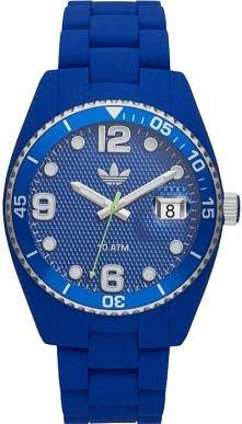 Granatowy zegarek marki Adi...