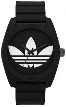 Czarno - biały zegarek mark...