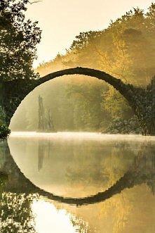 Starożytny most, Kromlau, N...
