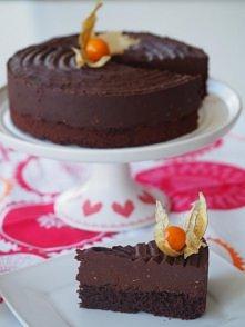 Torcik czekoladowo-truflowy