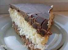 Bounty Składniki na ciasto: *5 jajek *3/4 szklanki mąki pszennej *1/2 szklanki cukru *2 łyżki kakao *1 łyżeczka proszku do pieczenia Białka ubić na sztywną pianę, dodać cukier, ...