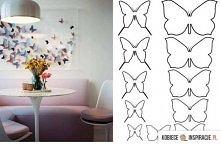 Motylkowa ściana