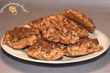 Jeżyki dietetyczne ♥  Składniki (na ok. 20 ciastek) -filiżanka mocnego naparu z czarnej herbaty -1 1/2 szklanki płatków owsianych -1 szklanka mąki orkiszowej razowej -1 łyżka cy...