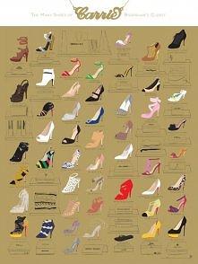 INFOGRAFIKA: Najlepsze szpilki Carrie Bradshaw w Seksu w wielkim mieście <...