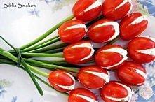 pomidory, szczypiorek, twarożek... hhmmm...
