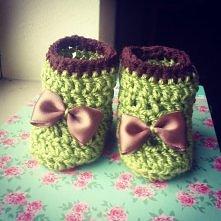 buciki dla małej dziewczynk...