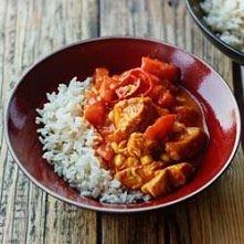 Curry z indyka i kukurydzy ze świeżymi pomidorami Składniki, 4 porcje:  • 500...
