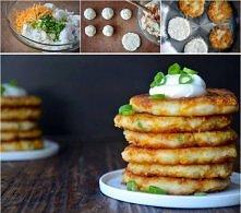 Zostały Ci ziemniaki z obiadu? Zrób z nich placuszki   1. Z ziemniaków zrób pueree. 2. Dodaj posiekany szczypiorek i startą marchewkę. 3. Przypraw solą i pieprzem i dokładnie wy...
