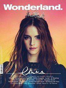 Emma Watson jak księżniczkq <3 Śliczna sesja w Wondrland.  Kliknij, aby zo...