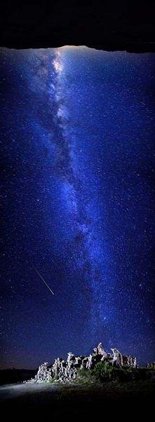Perseid Meteor Shower at Mono Lake - California - USA