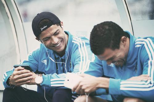 Cristiano and Pepe