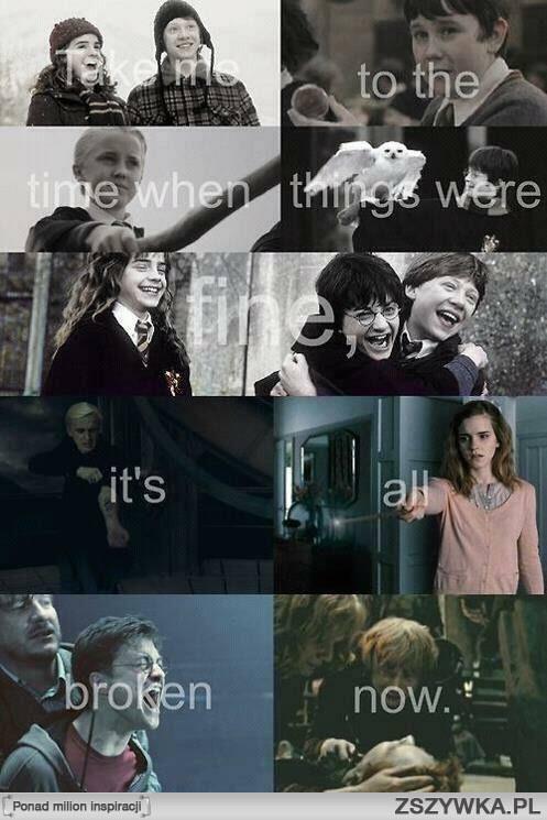 Tak Piękne A Tak Smutne Na Harry Potter Zszywkapl