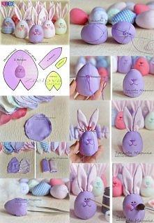 Zajączki na Wielkanoc
