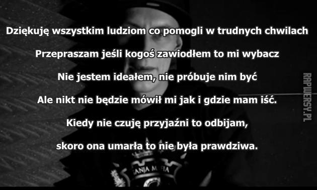 Kali Na Cytaty Z Rapu Zszywkapl