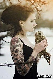 Tatuaż rękaw :)
