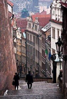 Schody, Praga, Republika Czeska