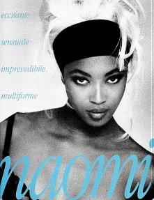 Kultowa sesja Naomi Campbell! Tak zaczynała supermodelka!  Kliknij i oglądaj ...
