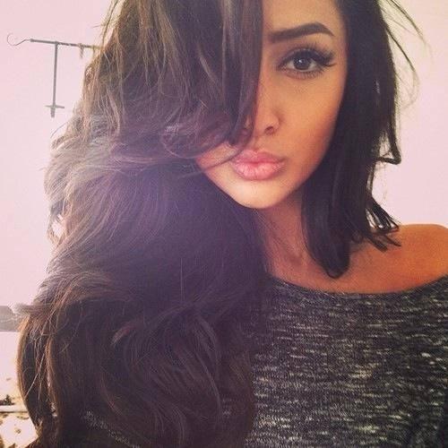Fat black girl selfie-7604